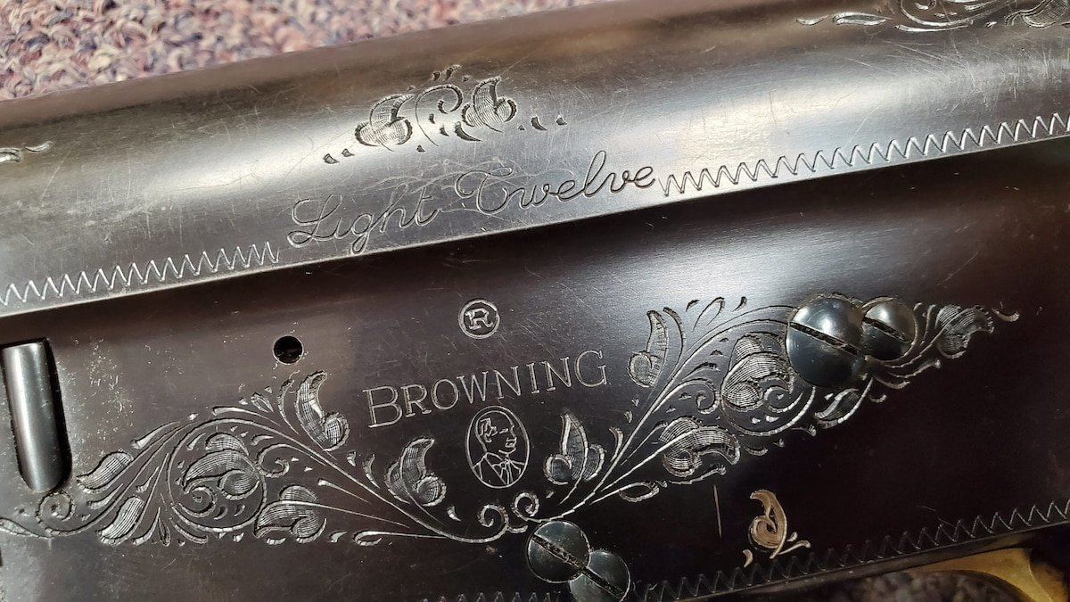 BROWNING special edition light twelve made in belgium
