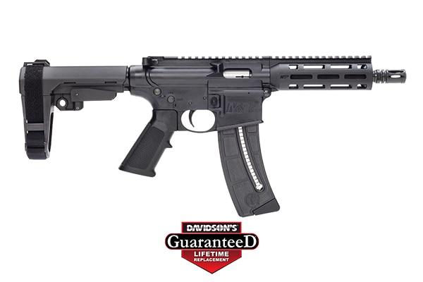 SMITH & WESSON M&P15-22 brace pistol