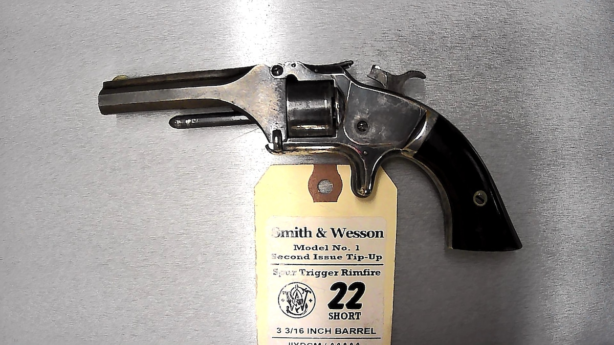 SMITH & WESSON No. 1 SECOND ISSUE TIP-UP