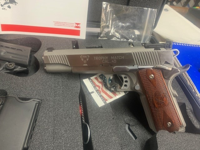SPRINGFIELD ARMORY (MFG. BY SPRINGFIELD INC.) Trophy Match SS