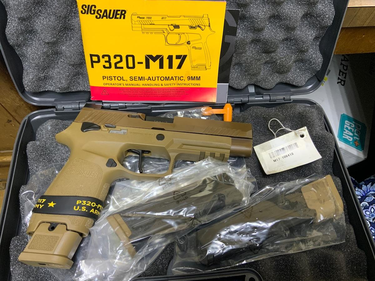 SIG SAUER P320 M17 320F-9-M17-MS UPC 798681582686