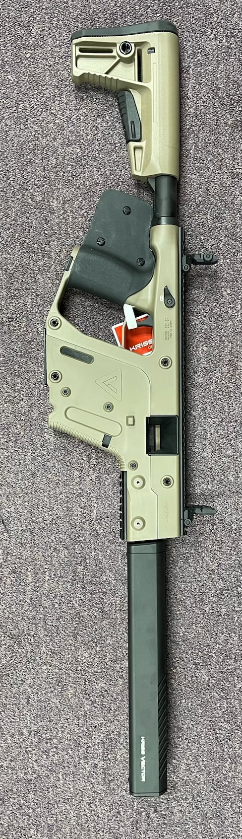KRISS VECTOR special edition Featureless kriss vector rifle in 10mm