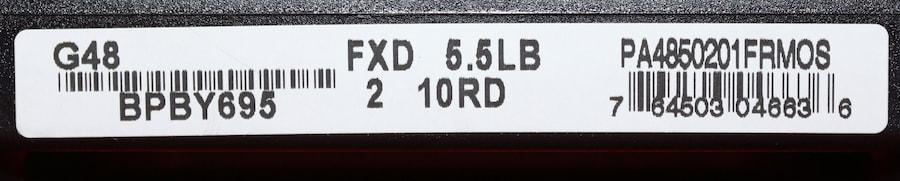 GLOCK 9MM G48 MOS FRONT RAIL PA4850201FRMOS