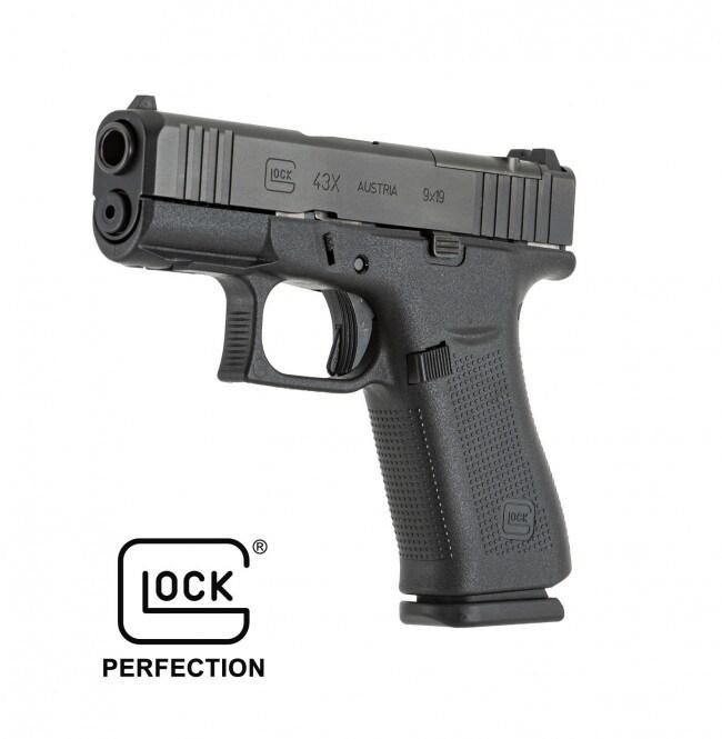 GLOCK G43x MOS Black
