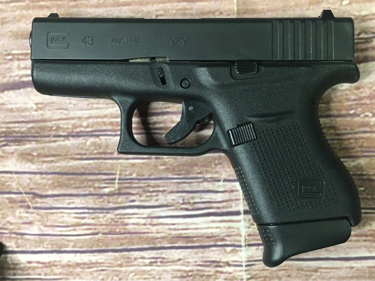GLOCK 43 G43 (Concealed Carry holster included)