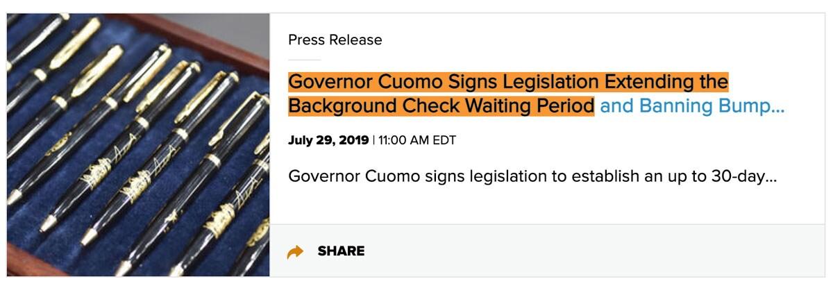 cuomo background checks