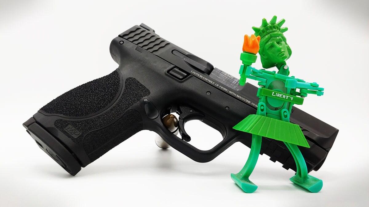 m&p shield handgun