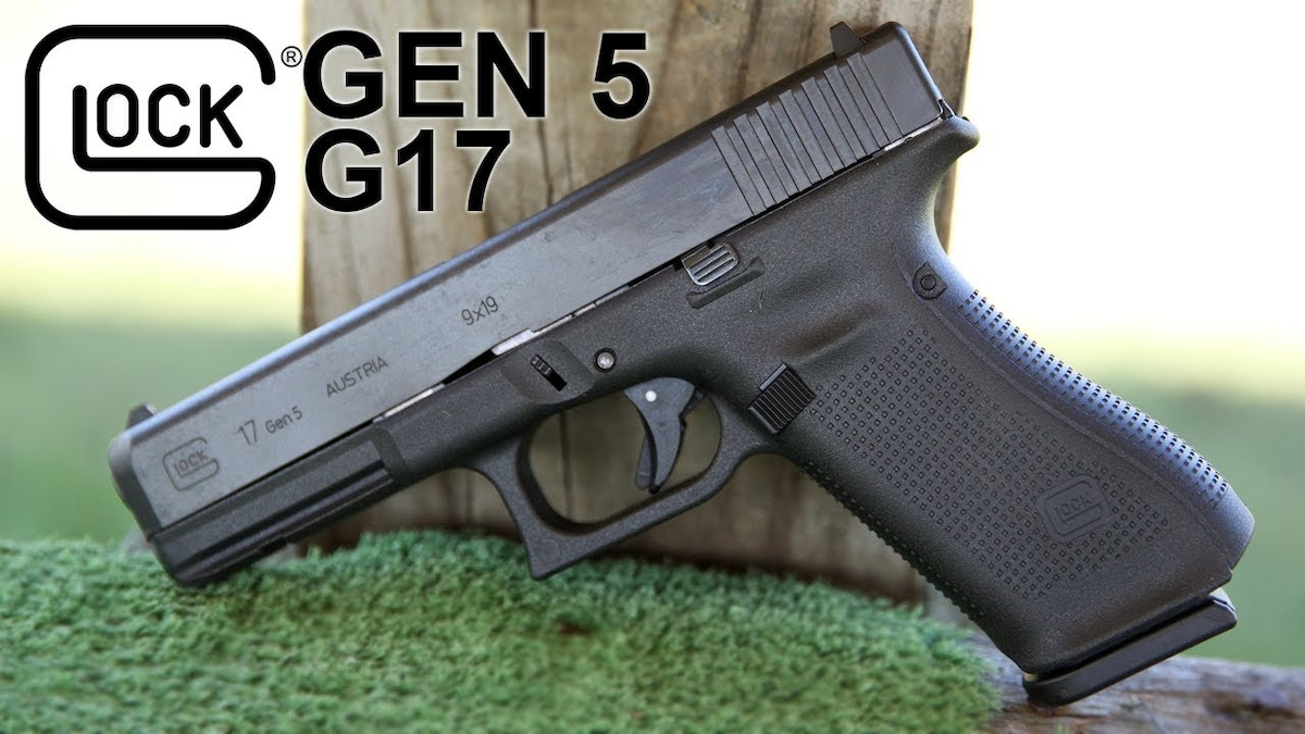 GLOCK glock 17 g17 gen 5 with 17rd magazine
