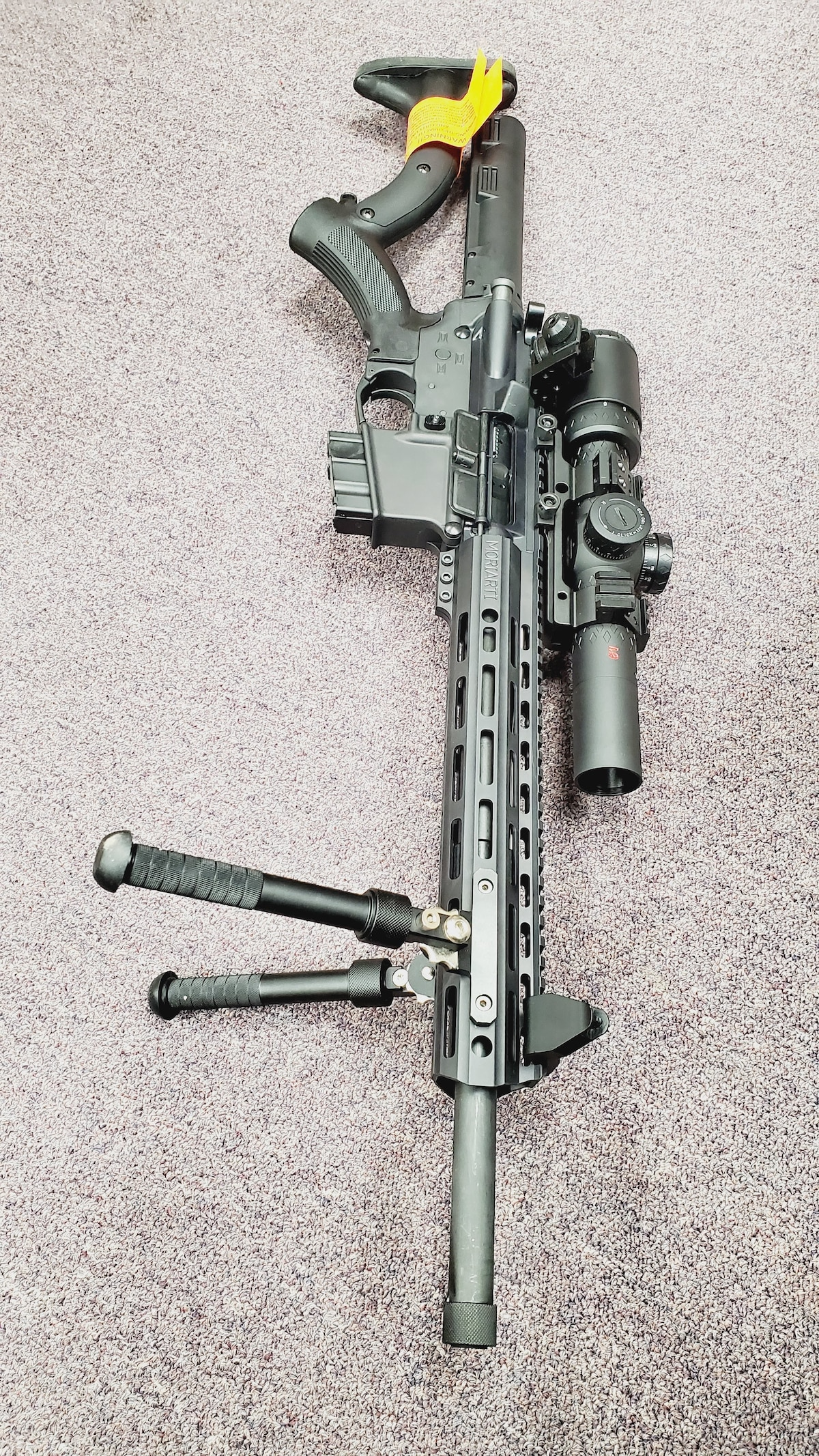 MORIARTI ARMAMENTS Special edition Featureless AR-15 with 10 rd magazine full package