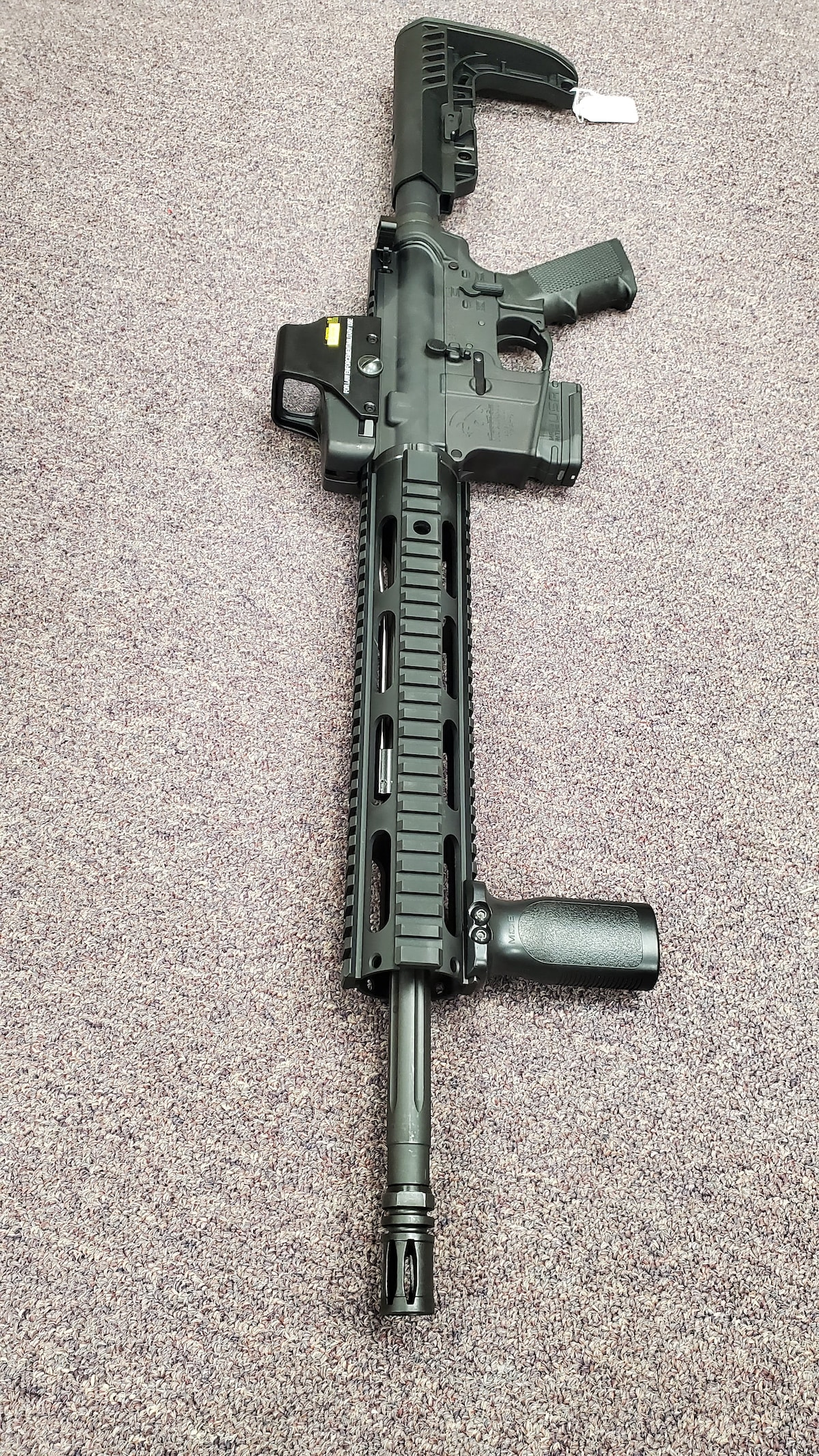 MORIARTI ARMAMENTS AR-15 with 10rd magazine AR15 & red dot sight package