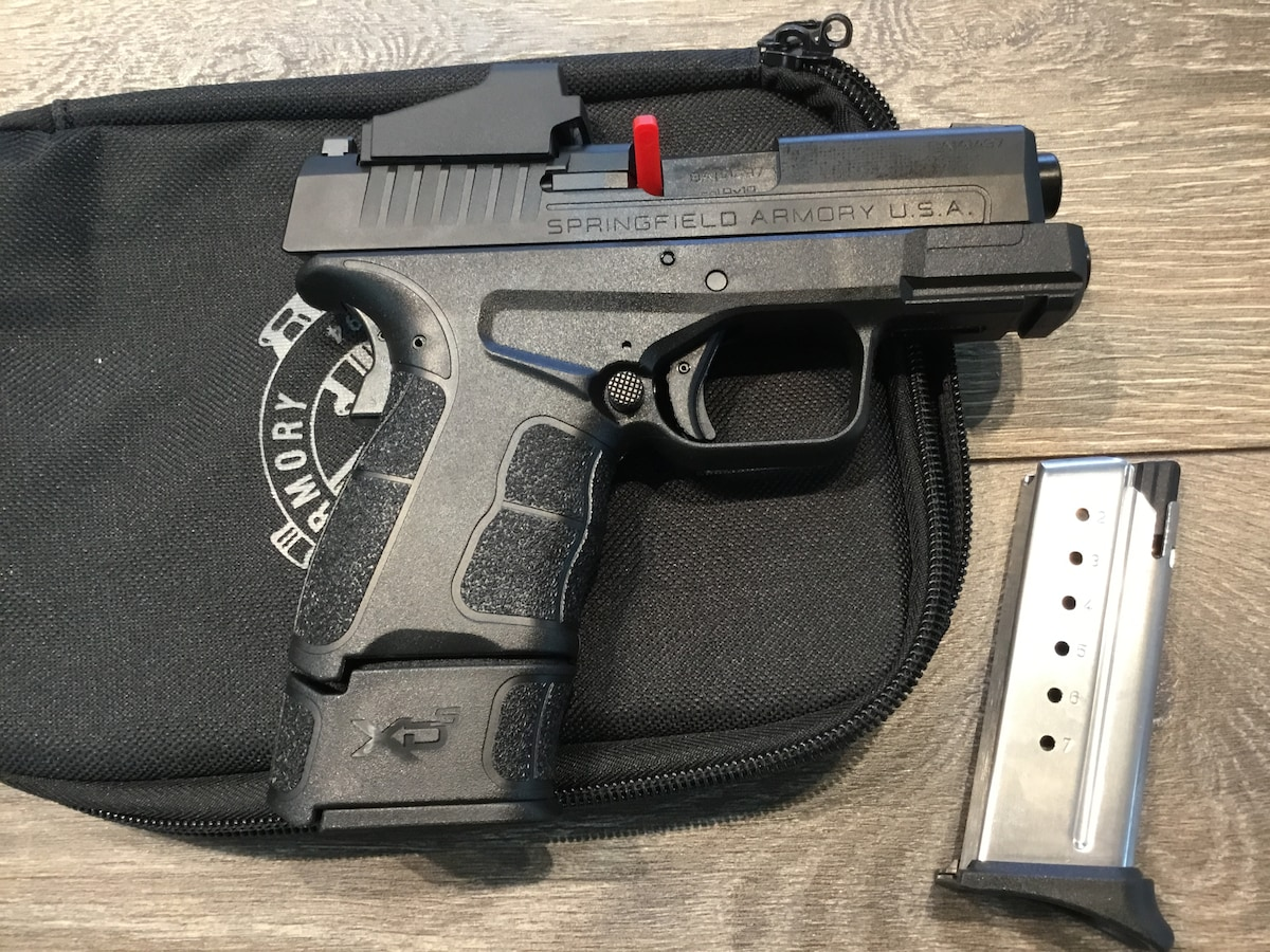 SPRINGFIELD ARMORY XD-S MOD2 9MM CT RED DOT