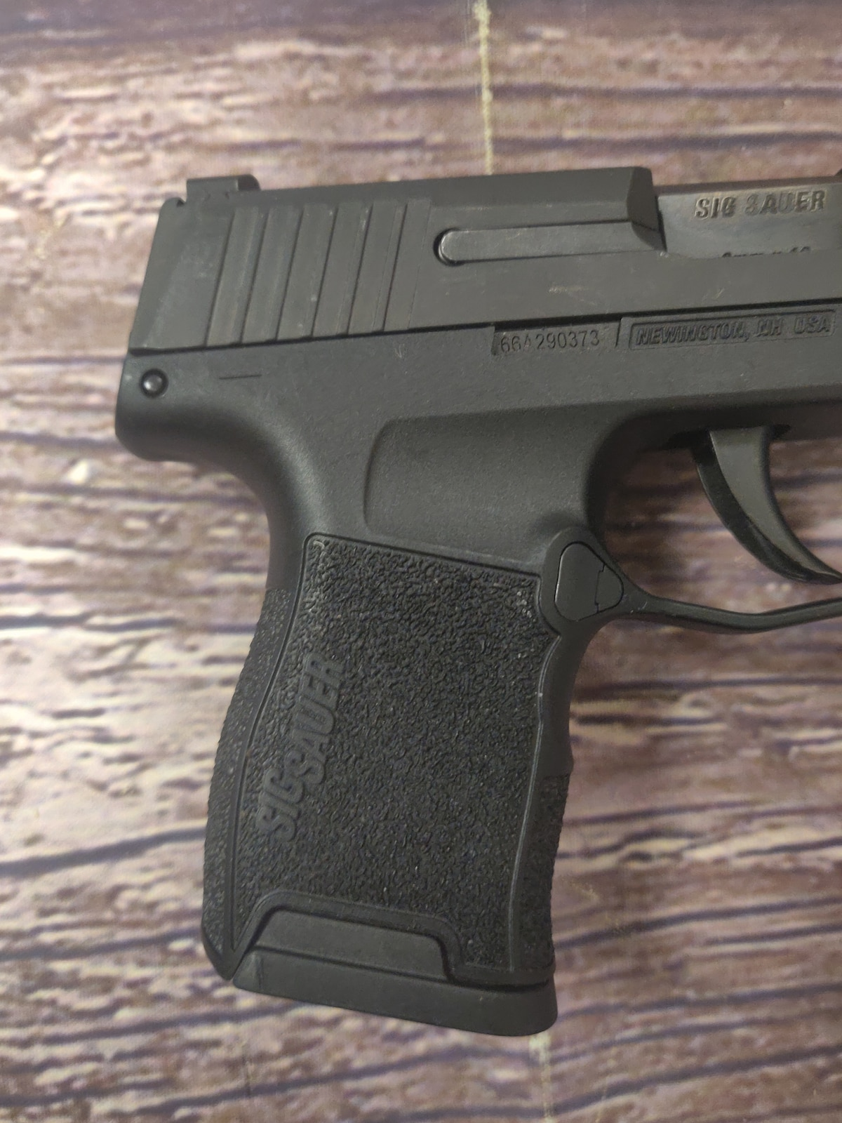 SIG SAUER p365 with Night Sights