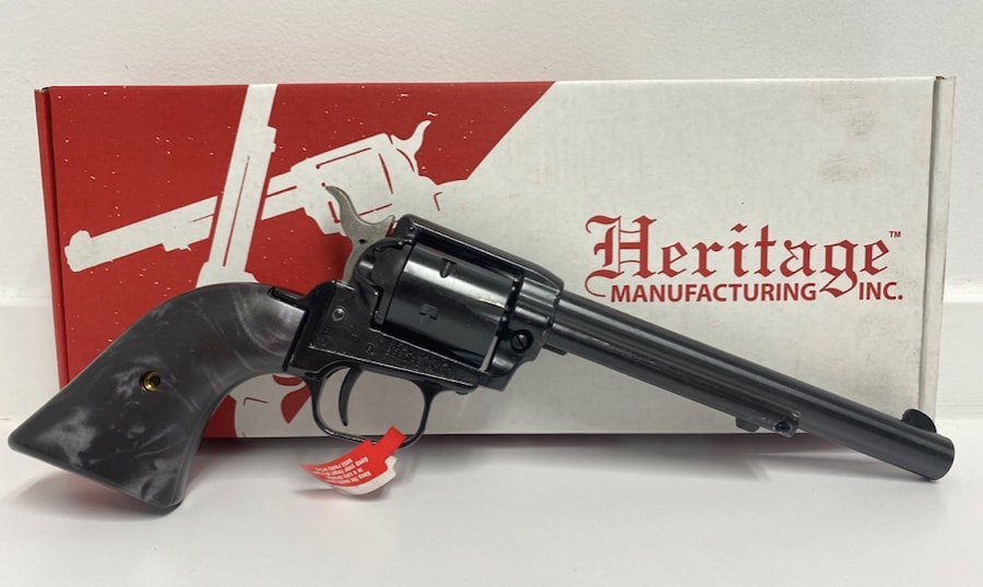 HERITAGE ARMS ROUGH RIDER BLACK PEARL