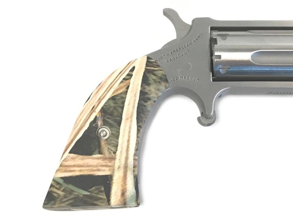 NORTH AMERICAN ARMS Mini Revolver Gator Gun - NAA-22MS-GHI-BR