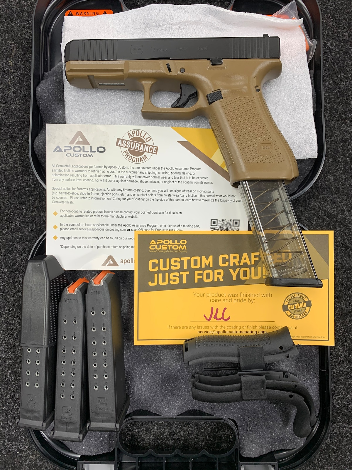 GLOCK 17 G17 GEN 5 APOLLO CUSTOM