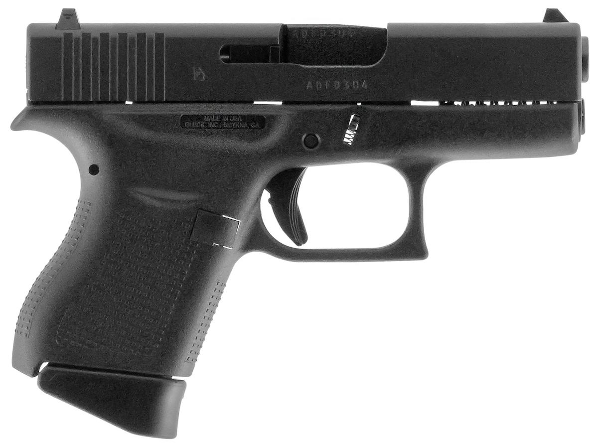 GLOCK G43 Sub-Compact w/Aggressive Texture Grip