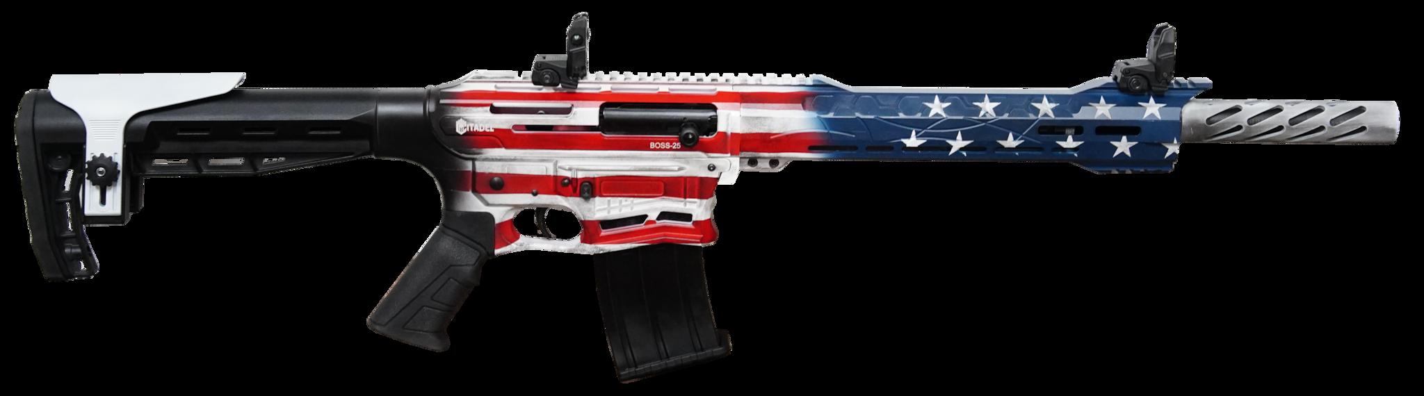 CITADEL BOSS-25 SEMI-AUTO 12GA AR-STYLE SHOTGUN -  BOSS-25
