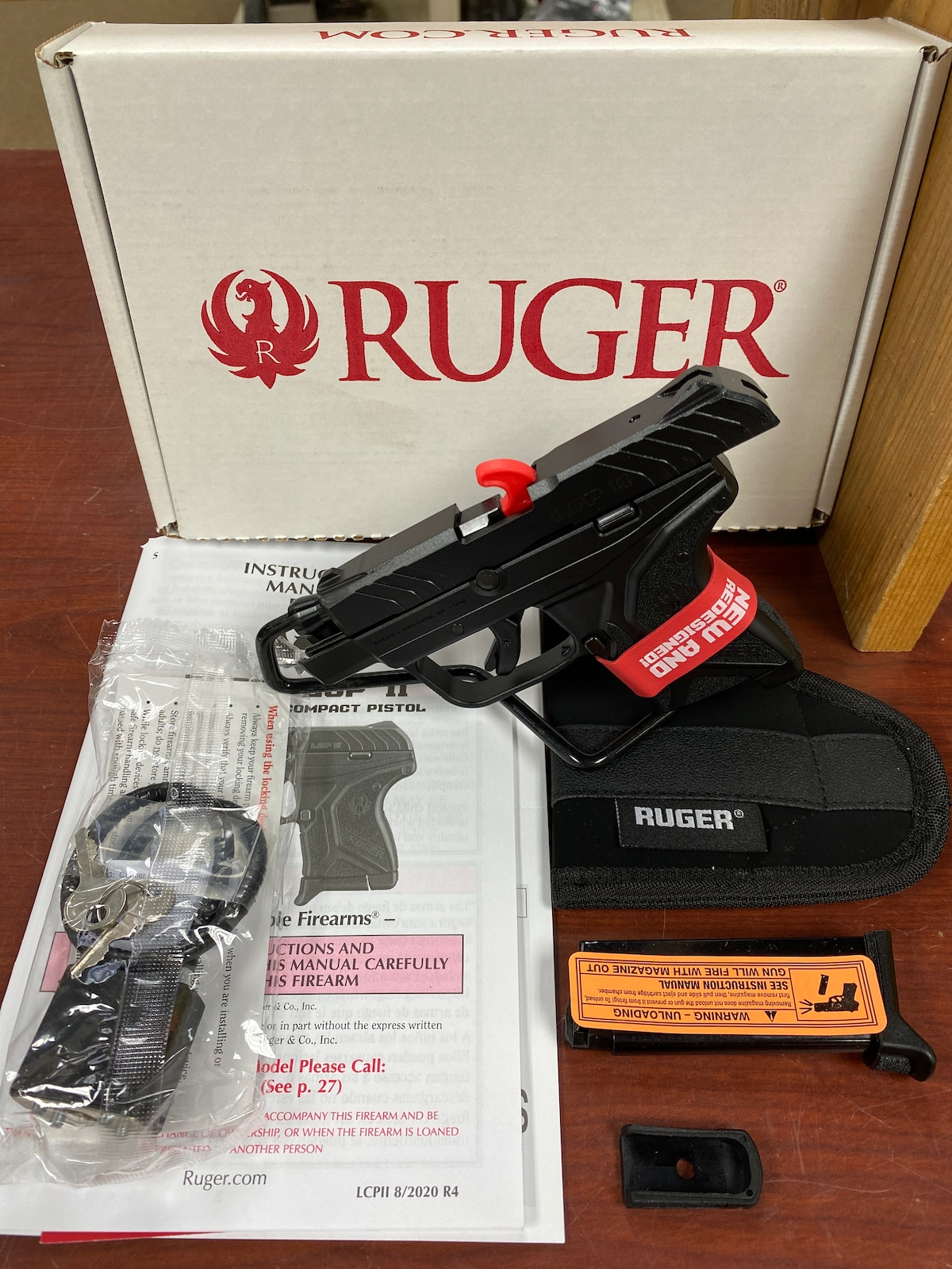 RUGER LCP II - 3750 03750