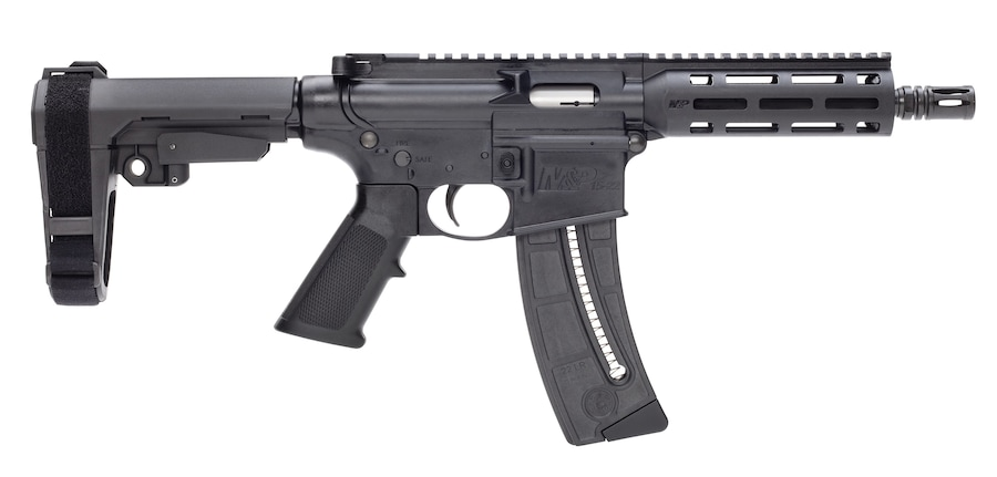"SMITH & WESSON SM13321 M&P15-22 PISTOL 22LR 8"" 25+1 13321"