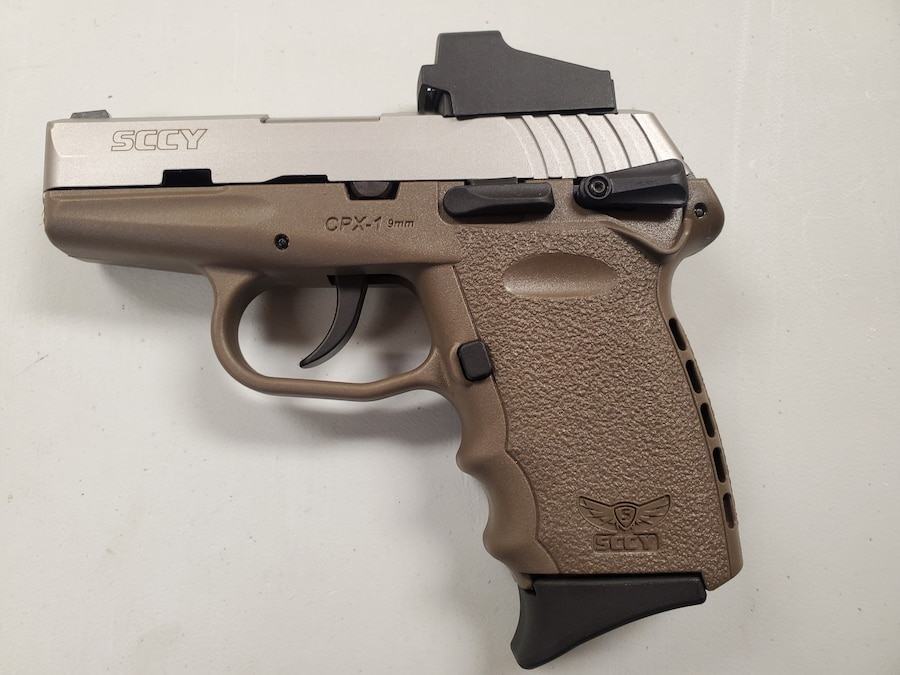 SCCY INDUSTRIES CPX-1TTDERD