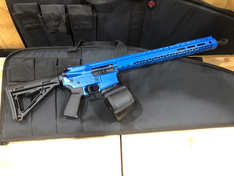 BLACK RAIN ORDNANCE Spec 15 Blue Custom