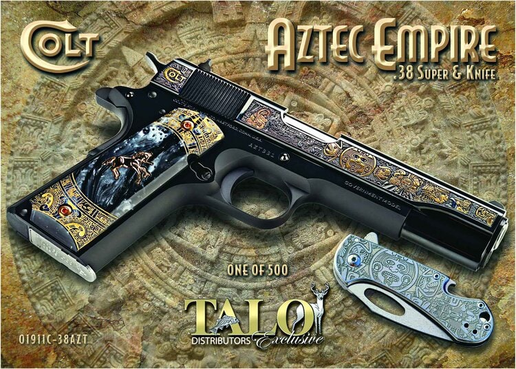 COLT Colt Aztec Empire O1911C-38AZT One of 500