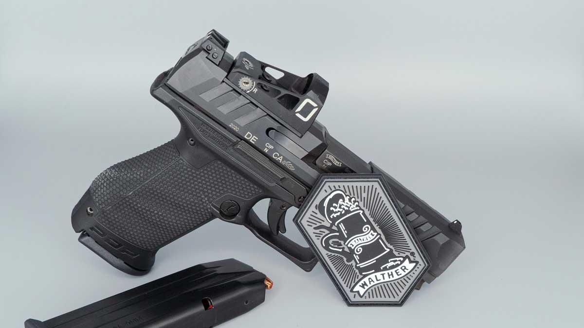 Walther PDP 9mm pistol handgun