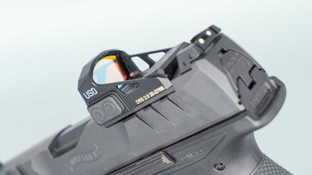 US Optics DRS 2.0 on top of Walther PDP