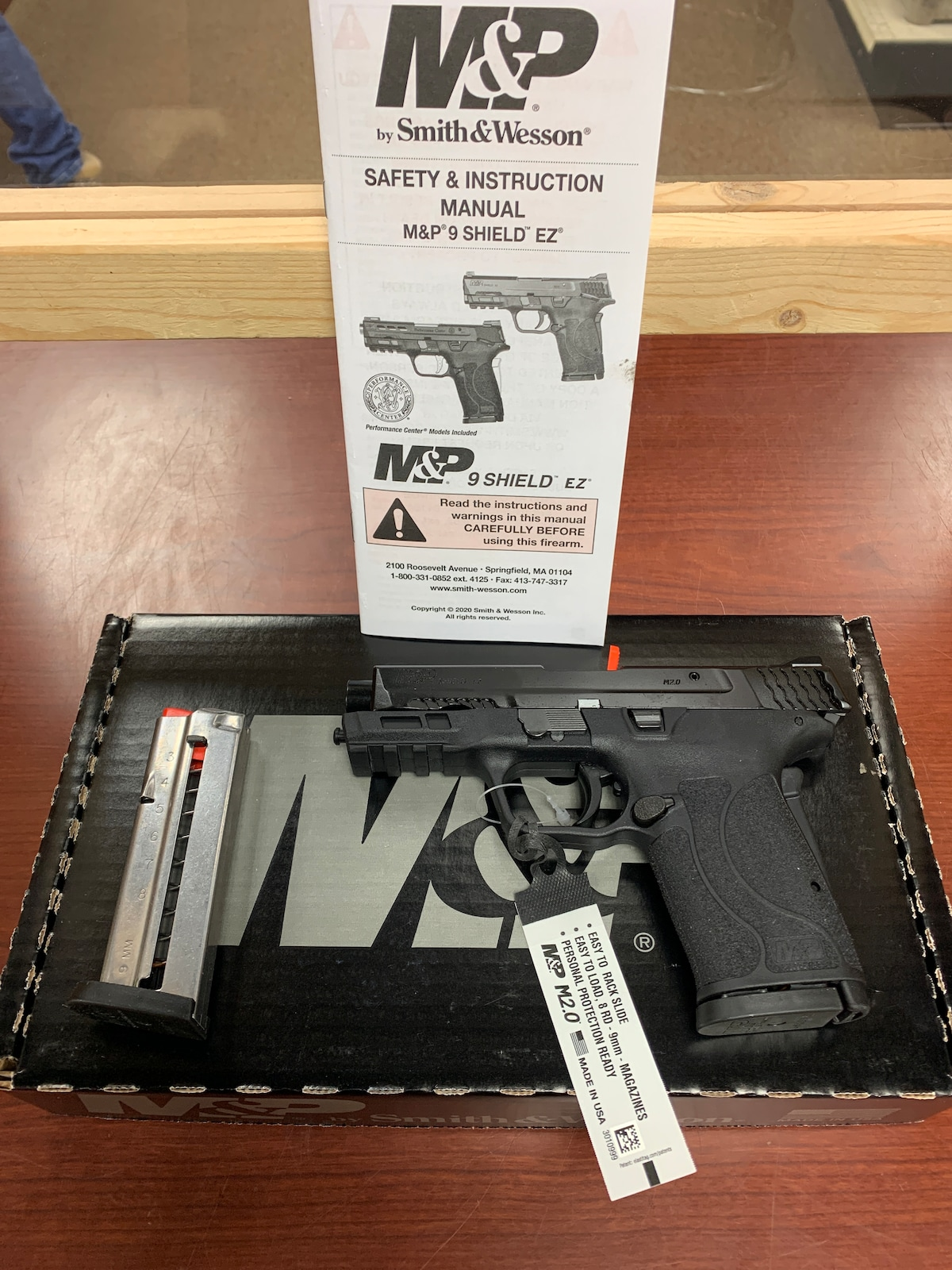 SMITH & WESSON M&P9 Shield EZ NTS 12437
