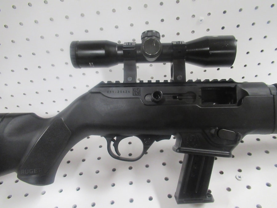 RUGER 9MM PC CARBINE TAKEDOWN