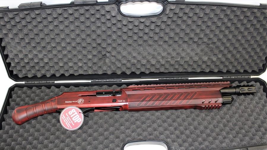 GARAYSAR Fear-114 Red Semi Auto