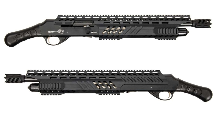 GARAYSAR Fear-114 Black Semi Auto