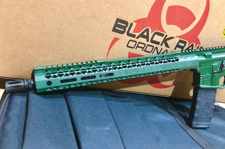BLACK RAIN ORDNANCE FALLOUT 15 Keltic green