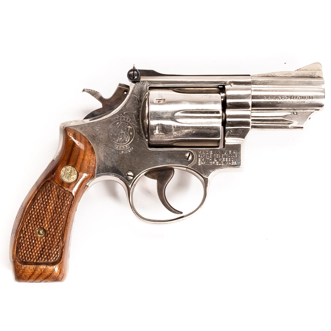 SMITH & WESSON MODEL 19-3 COMBAT MAGNUM