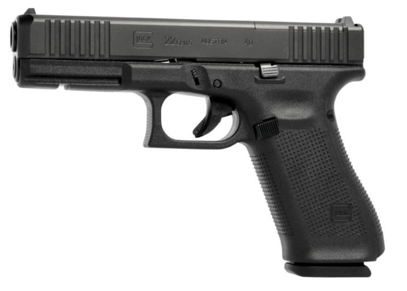"""GLOCK G22 G5 40S&W 15+1 4.49"""" MOS FS 3-15RD MAGS   FRONT SERRATIONS 40 S&W"""