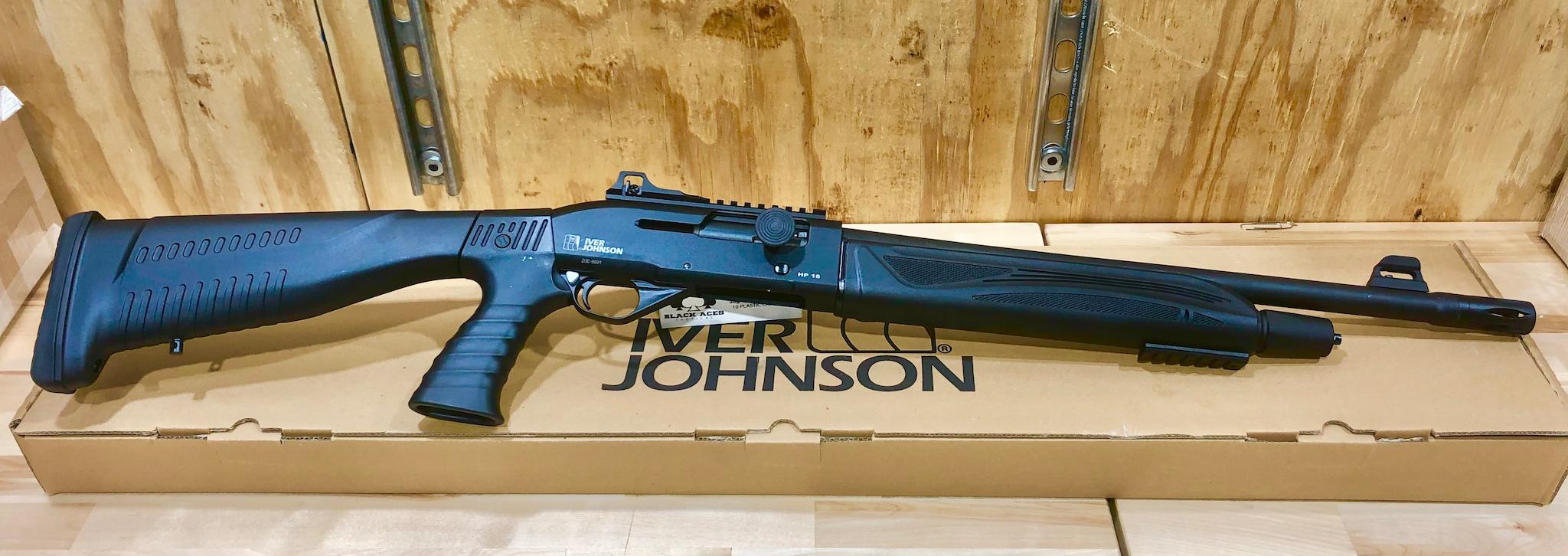 IVER JOHNSON Tactical Defense 12