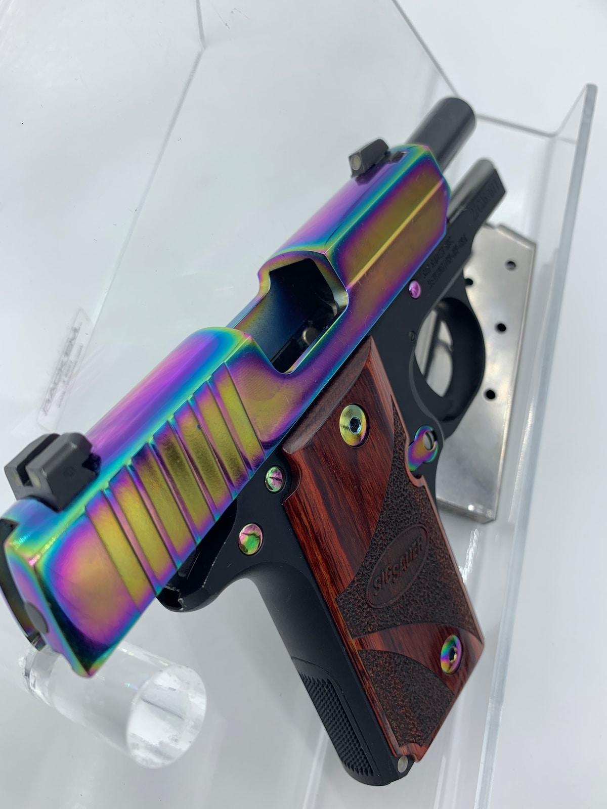 SIG SAUER P238 RAINBOW