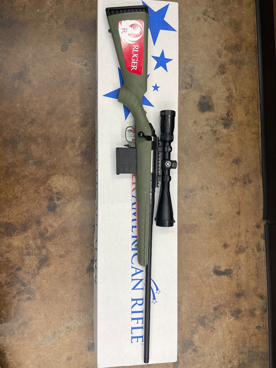 RUGER AMERICAN BOLT ACTION RIFLE .30-06