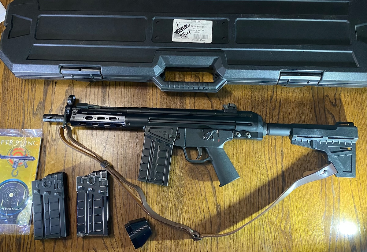 PTR INDUSTRIES, INC. (PTR 91, INC) PDW Tactical Not HK 91 G3 MP5