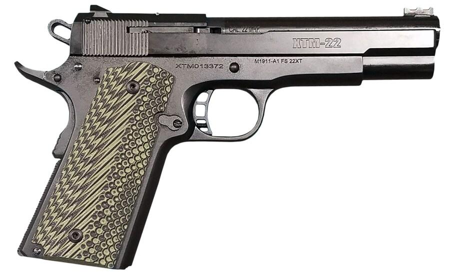 ROCK ISLAND ARMORY 56794 XT22 Magnum OD Green G10 w/Slash