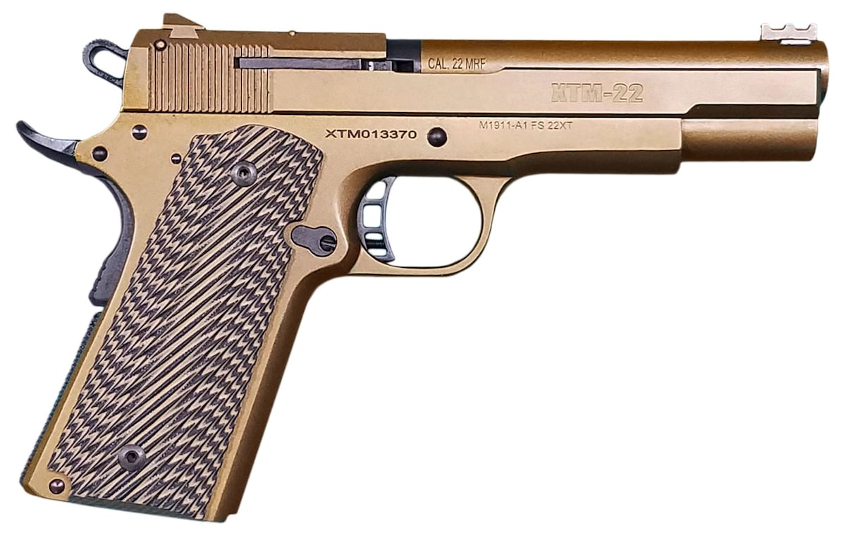ROCK ISLAND 56792 XT22 Magnum 22  Burnt Bronze Cerakote