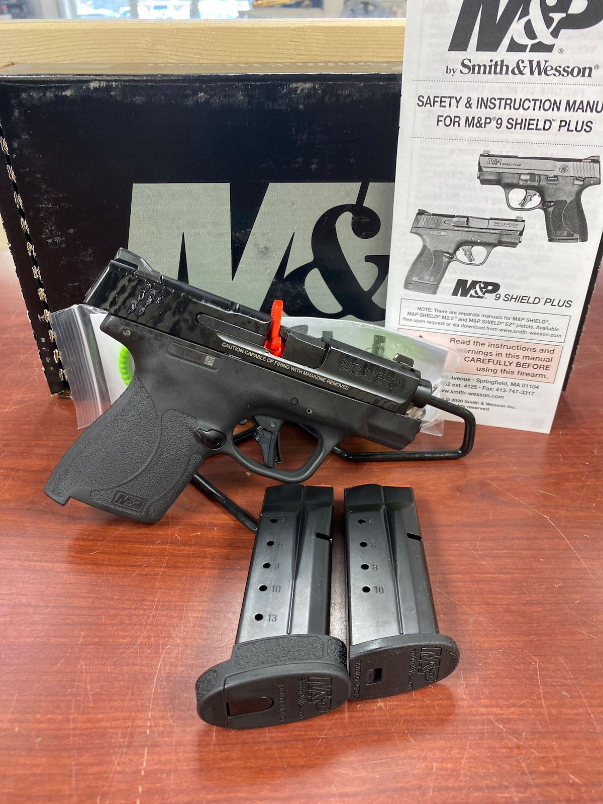 SMITH & WESSON M&P9 M&P SHIELD PLUS W/ THUMB SAFETY ~ 13246