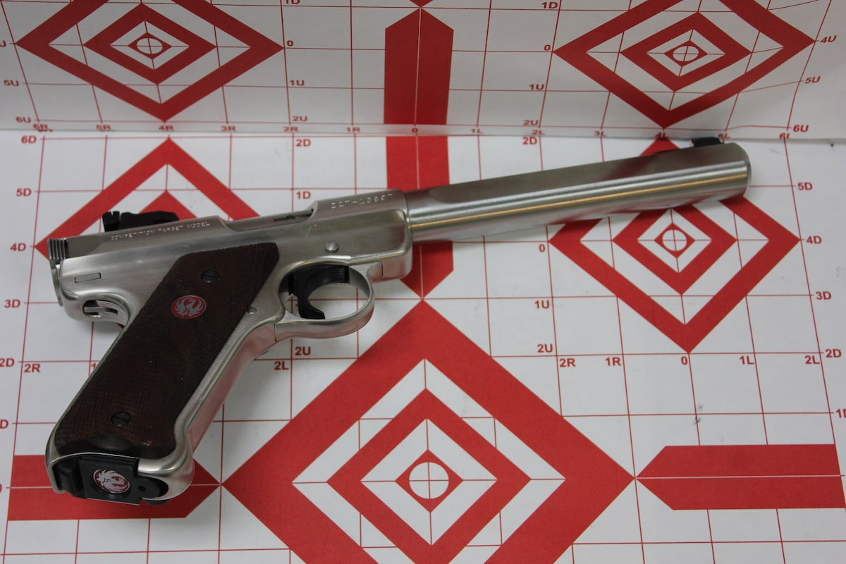 STURM, RUGER & CO., INC. Mark III 22LR Competition Stainless Steel Rimfire Pistol