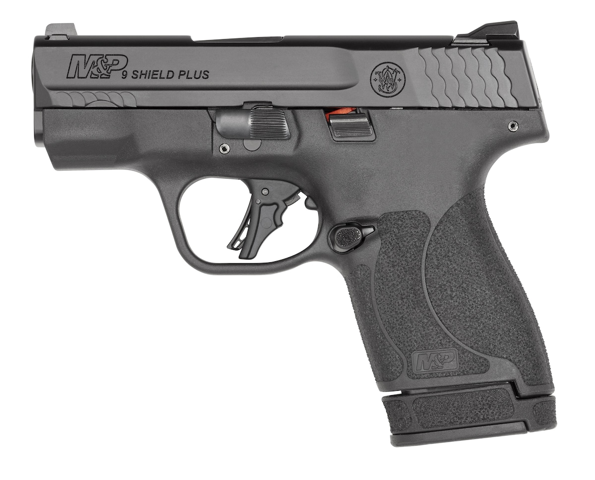 """SMITH & WESSON SHIELD PLUS 9MM 3.1"""" 13+1 13248   NO THUMB SAFETY 9mm"""