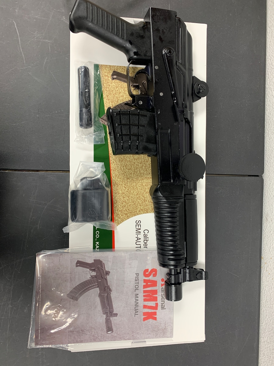 ARSENAL sam7k pistol sam7k-34 ak-47
