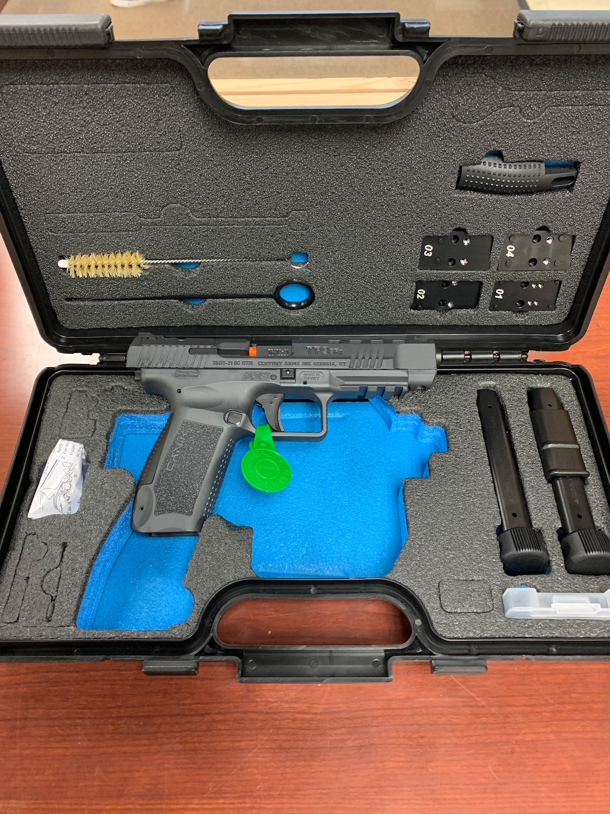 CANIK tp9sf optics ready sniper grey hg3774sg-n