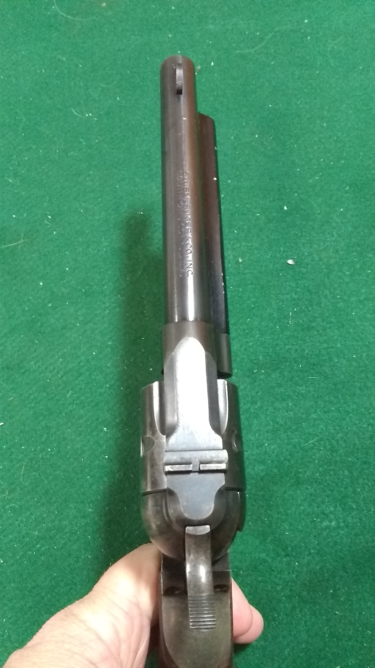 RUGER Single Six Three Screw