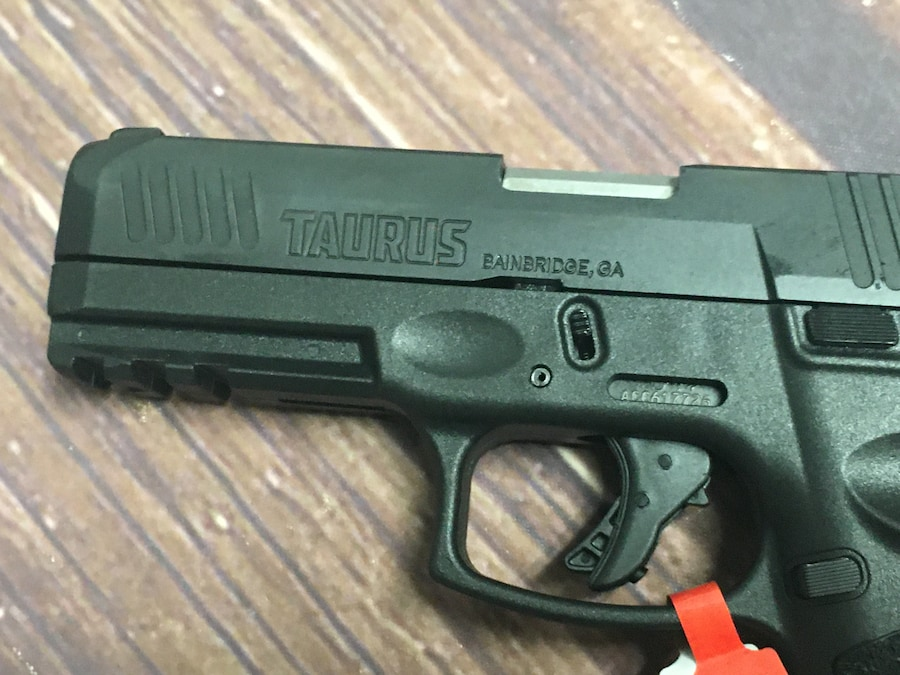 TAURUS G3 Matte Black Steel Sights