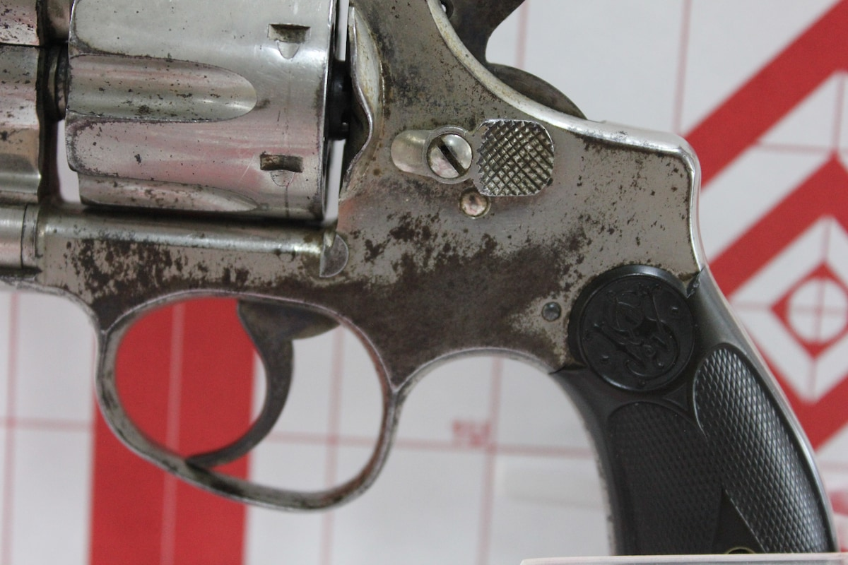 SMITH & WESSON MODEL 1903 HAND EJECTOR-5th change