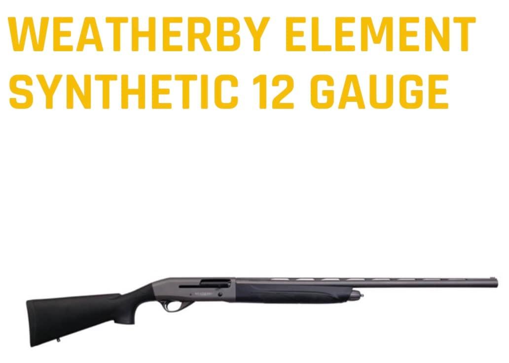 WEATHERBY element 12/20 Tungsten